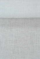 Льняна білосніжна сорочкова тканина