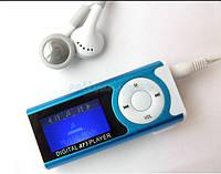 Мр3 Плеер LCD Фонарик Динамик + USB(длинное) + наушники