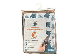 Чехол металлизированный с войлоком для гладильной доски Laundry 110*30 TR-006-2S