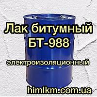 Лак битумный БТ-988 электроизоляционный пропиточный, 40кг