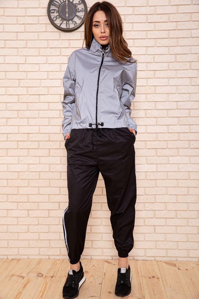 Спорт костюм женский 103R161 цвет Серо-черный