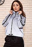 Спорт костюм женский 103R161 цвет Серо-черный, фото 4