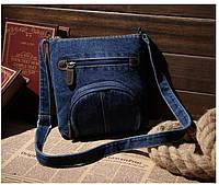 Женская джинсовая сумка Vintage