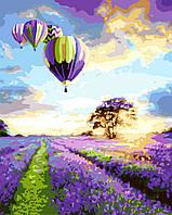 Картина по номерам 40х50 см Brushme Полет над лавандовым полем (G 043), фото 1