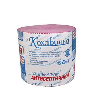 Туалетная бумага антисептическая без втулки 100х90