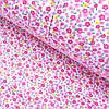 Фланель (байка) з дрібними рожевими квіточками, ш. 105см