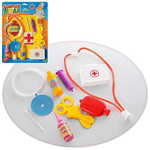 Набір лікаря дитячий іграшковий