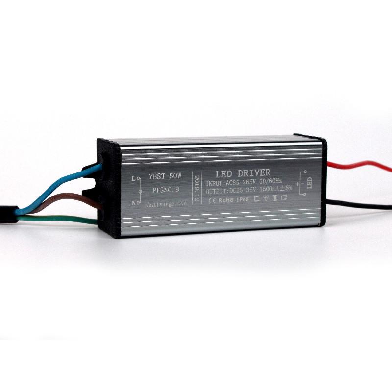 Драйвер для вуличного світильника 50 Вт IN:85-265 В, OUT:25-36 В 1500 мА IP65
