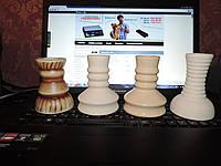Чаши глиняные кальянные (чилим).