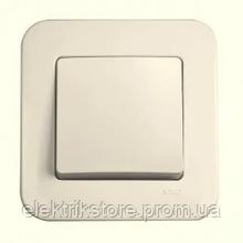 Выключатель 1-кл крем VIKO Rollina