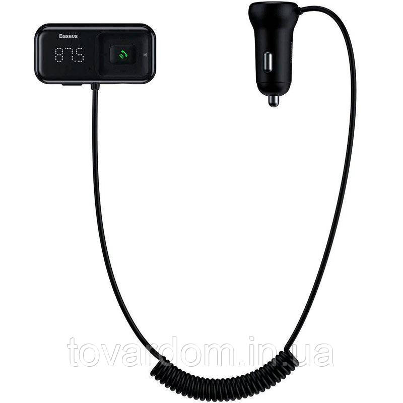 FM Modulator Baseus T-Typed S16 Bluetooth MP3/Charger