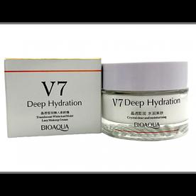 Крем для обличчя зволожуючий Bioaqua V7 Deep Hydration Cream 50 мл