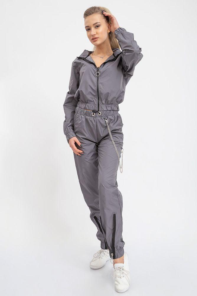 Спорт костюм женский 103R015 цвет Серый
