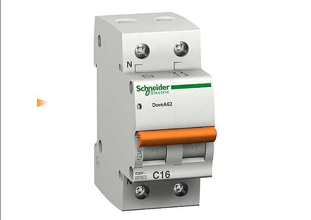 Автоматический выключатель  ВА63 1п+н 10A  C
