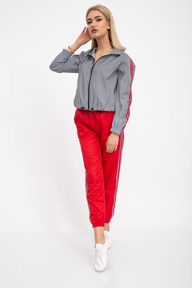 Спорт костюм женский 103R161 цвет Серо-красный