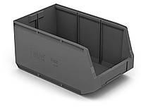 Пластиковые ящики для гвоздей 407. 500 x 300 x 250 Черный (вторсырье)
