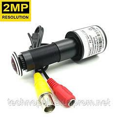 Вічко камера відеоспостереження AHD 1080P для вхідних дверей HQCAM RX2000BT, 2000 ТВЛ, 2Мп, кут 120° (03428)