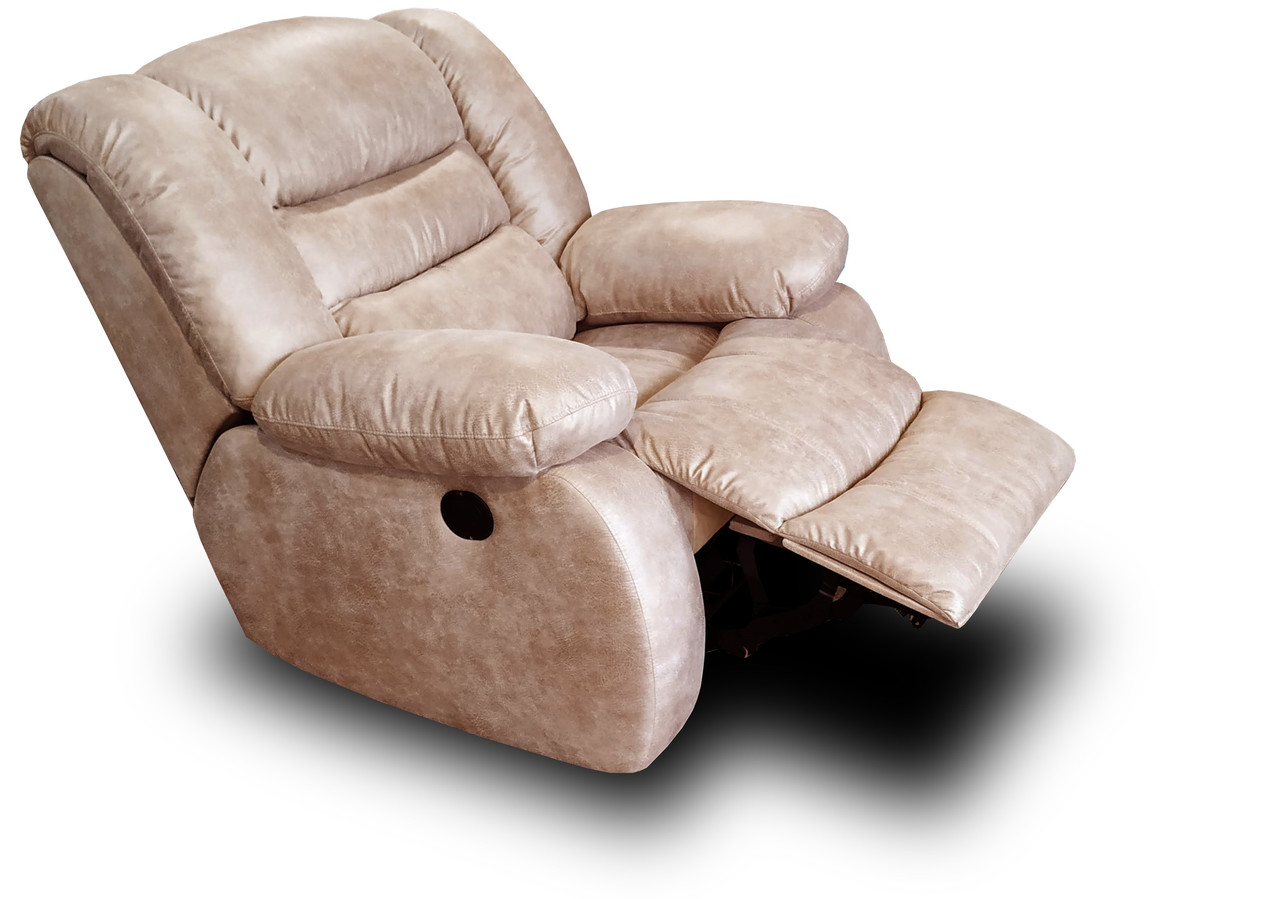 Кресло реклайнер Орландо Механика, обивки ассортименте