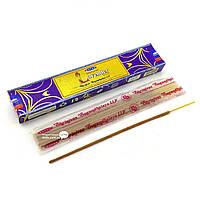Благовоние Natural Lavender Satya 15 грамм. Аромапалочки Натуральная Лаванда (29361K)