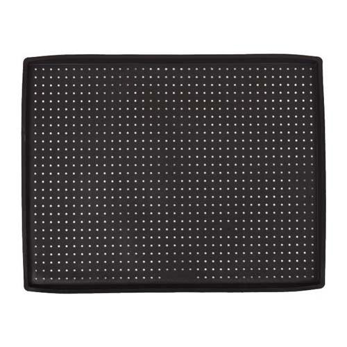 Коврик силиконовый для выпечки перфорированный с бортами, 39х30см, 1.5мм