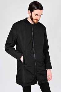 Куртка мужская удлиненная черная PRIDE 127632P