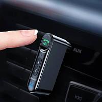 FM Modulator Baseus Qiyin AUX Car Bluetooth Receiver  Black