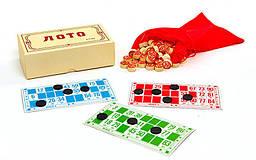 """Настільна гра """"Лото"""" в картонній коробці"""