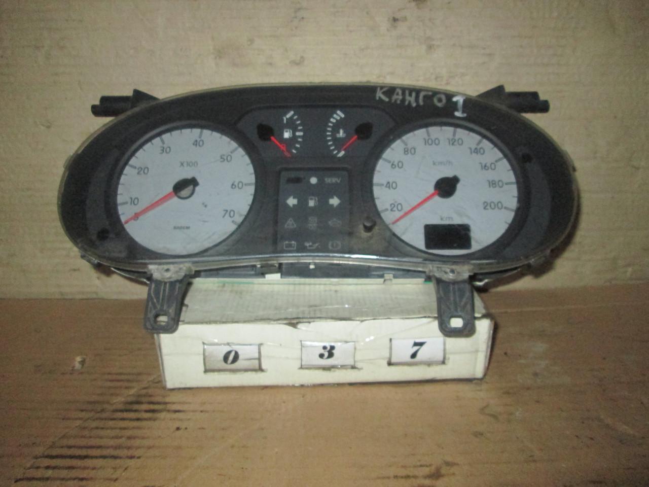 №37 Б/у Панель приладів/спідометр 8200176652 для Renault Kangoo I 1998-2008