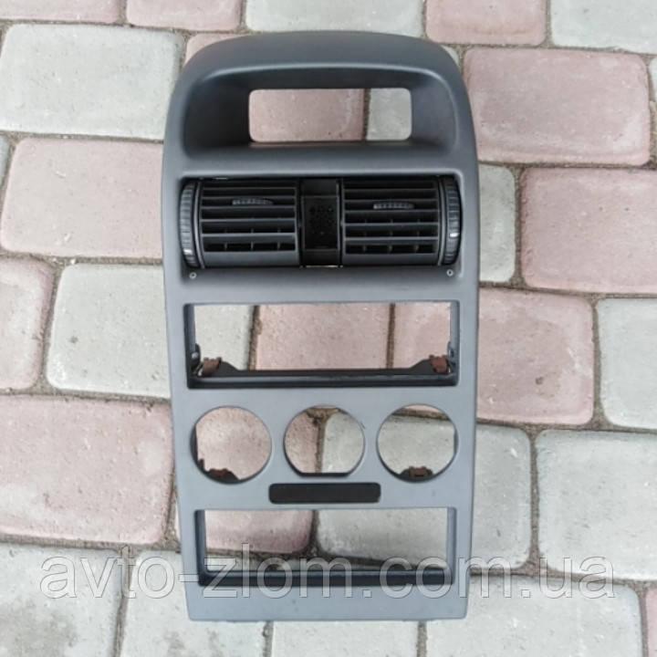 Центральная консоль Opel Astra G, Опель Астра Г.