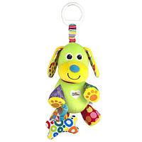 Розвиваюча іграшка для малюків Lamaze Щеня з кісточкою (LC27023)