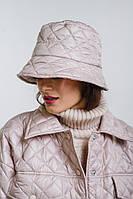 Женская панама стеганая с надписью style розовая Arjen размер One Size (26438-OS)