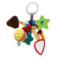 Розвиваюча підвісна іграшка для малюків Lamaze Вузлик (LC27128)