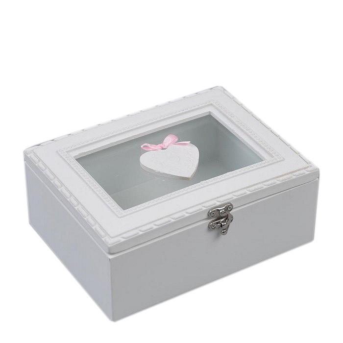 Шкатулка Сердце для любимой девушки подарок на 14 февраля