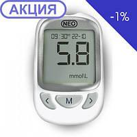 Система для контроля уровня глюкозы в крови  Neo + 50 тест полосок (NewMed), фото 1