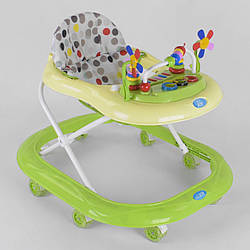 Детские ходунки с игровой панелью / ходунки для детей с силиконовыми колесами для мальчика