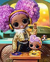 Кукла L.O.L. LOL Surprise OMG Лол ОМГ Леди Диджей Дива 24K D.J. Doll 574217 оригинал