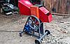 Веткоруб садовий подрібнювач дров гілок і обрізі електричний двигун РЕ 50 Подрібнювач гілок,Дробарка вет, фото 3