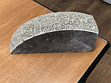 Цегла для забору напівкруглий, скеля, фото 2