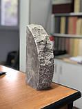 Цегла для забору напівкруглий, скеля, фото 3