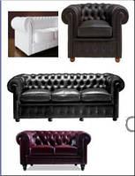 Комплект мягкой мебели Честер, фото 1