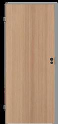 Глухое дверное полотно межкомнатной двери в цвете БУК с четвертью PORTA Польша