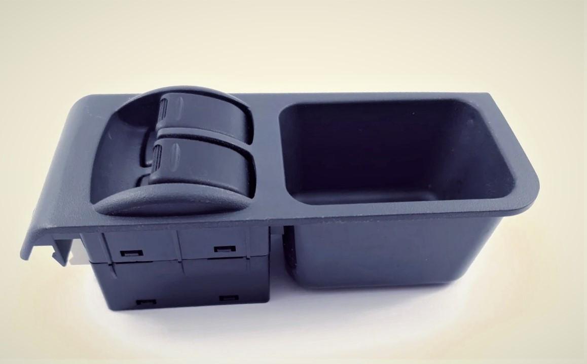 Кнопки стеклоподьемника в консоль (на 2 кнопки) Lanos, Sens  (Т-100) GROG Корея