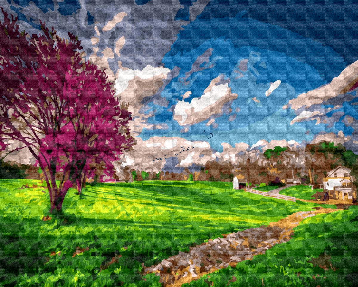 Картина по номерам 40х50 см Brushme Времена года: весна (GX 34761)