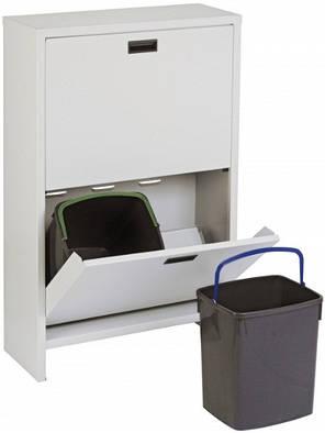 Шкаф для сортировки мусора Mobil Plastic 100/4-GR, фото 2