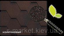 Битумная черепица RUFLEX МINT Sota Коричневый, 3м2