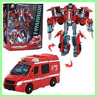 Детский робот Трансформер машина игрушка для мальчика J8016B