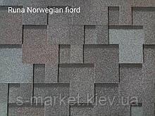 Битумная черепица RUFLEX  Runa Норвежский Фьорд, 3м2