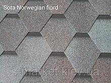 Битумная черепица RUFLEX Sota Норвежский Фьорд, 3м2