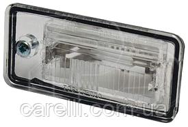 Фонарь подсветки номера левый для Audi A6 2004-11