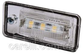 Фонарь подсветки номера левый+правый LED (комплект) для Audi A6 2004-11